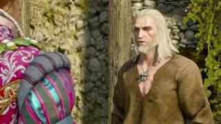 Dandelion rescues Geralt The Witcher 3 Blood and Wine DLC Dandelion...