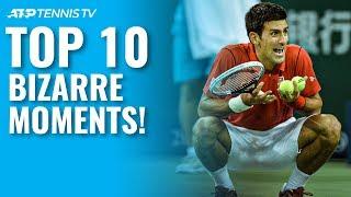 Top 10 Bizarre ATP Tennis Moments