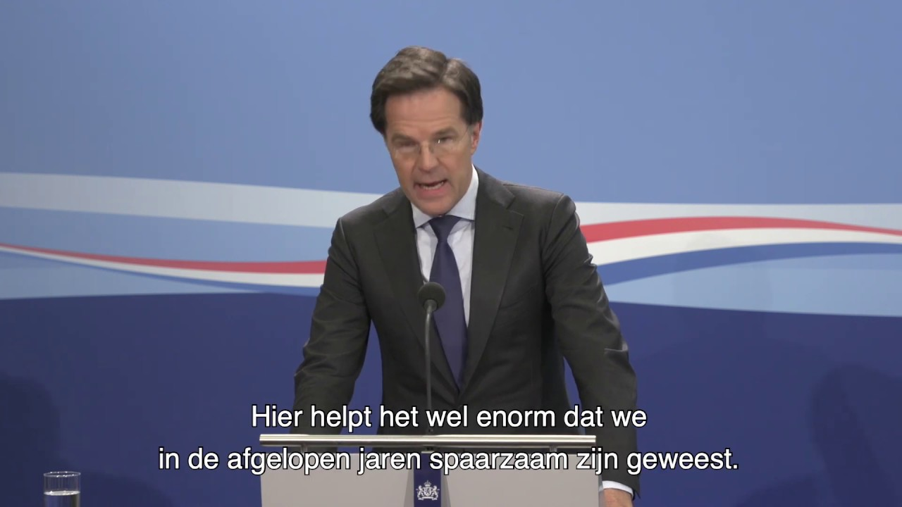 Inleidend Statement Persconferentie MP Rutte Van 24 April
