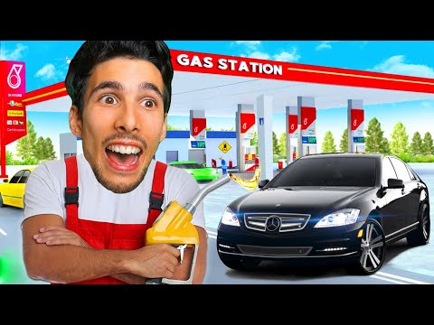 SIMULATORE DI BENZINAIO!! | Gas Station Simulator