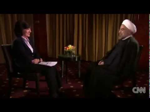 Rouhani's message in English to US people