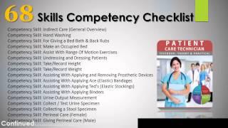 Patient Care Technician Skills Video