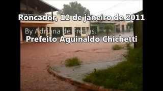 Roncador: chuva forte é culpa da prefeita!