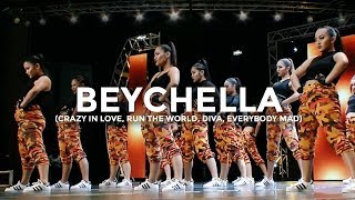 Beyoncé - Crazy In Love, Run The World, Diva, Everybody Mad (Dance Video)