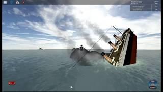 Roblox RMS Titanic sinken - Teil 2 Finale