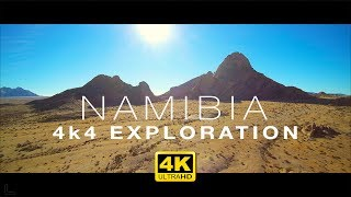 Amazing NAMIBIA in 4K – Aerial Drone & 4x4 Exploration
