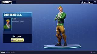 Buying *OG* Codename E.L.F (Fortnite Battle Royale)