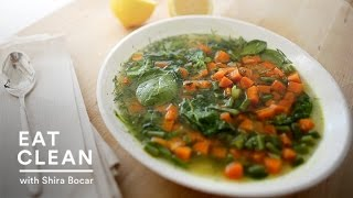 Carrot And Spinach Soup Recipe - Eat Clean With Shira Bocar