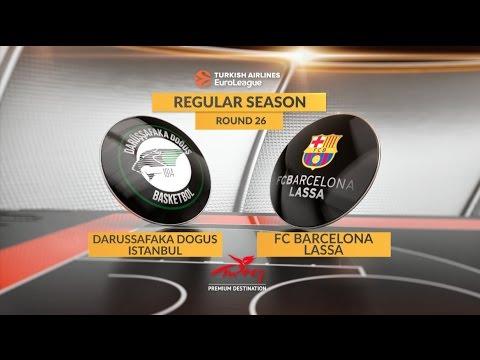 Highlights: Darussafaka Dogus Istanbul-FC Barcelona Lassa