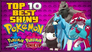 Top 10 Best Shiny Pokémon in Pokémon Sword and Shield | All 3 Shiny Legendary Pokémon