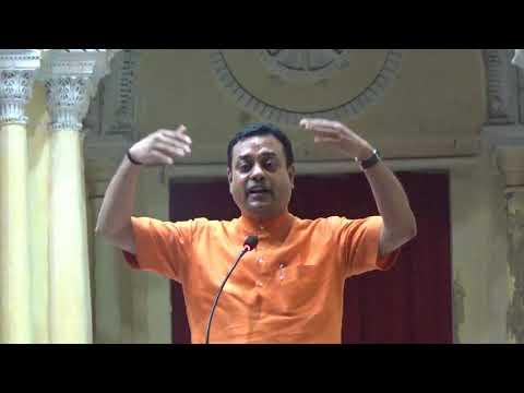 Dr. Sambit Patra's speech on Swami Vivekananda at Sovabazar Raajbari in Kolkata .