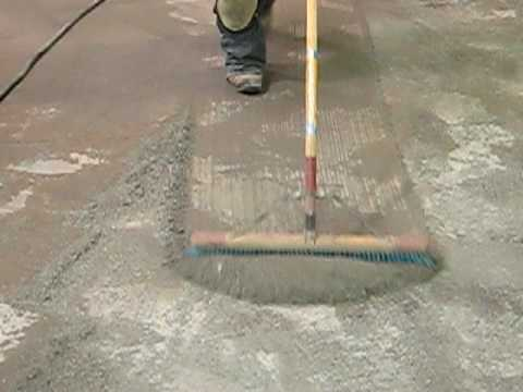 how to keep concrete clean
