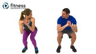 Quick Sweat Cardio Burst - Fast Fat Burning Cardio Workout with Kelli & Daniel