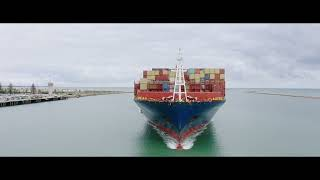 homepage tile video photo for Saab's self-service model results in smooth port experience in Flinders Ports, Australia