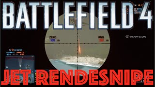 bf4 rendesnipe on a jet with a 50 cal a bf4 jet rendesnipe bf4 epic moments playlist