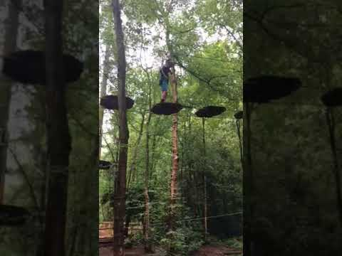 Zac and Noach GoApe 2017
