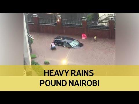 Heavy rains pound Nairobi