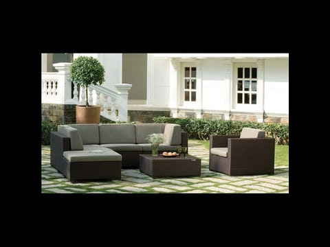 meubles de jardin design et haut de gamme direct fabricant prix d 39 usine youtube. Black Bedroom Furniture Sets. Home Design Ideas