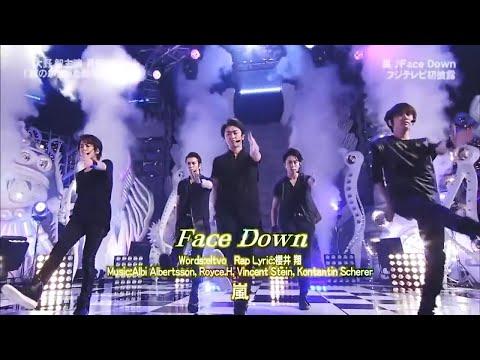 ARASHI - FACE DOWN
