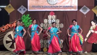 TAM Sankranthi 2013 - Aura ammaka challa - Folk Dance