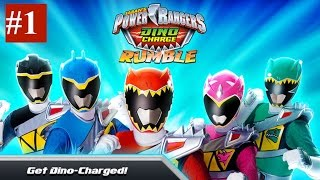 Power Rangers Dino Charge Rumble - Walkthrough Part 1 - iPhone, iPad, Samsung Tablet.