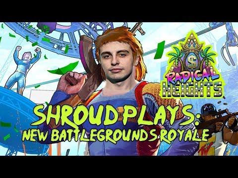 SHROUD PLAYS: Radical Heights Battlegrounds Royale (FREE!)