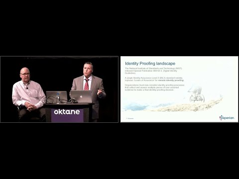Oktane18: Future of Identity and Identity Proofing with Experian
