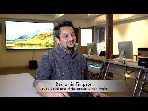 Meet Benjamin Timpson, Coordinator of Photography and New Media