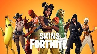 ALL SKINS OF SAISON 8 ARE FUITÉ.. (FORTNITE SAISON 8)