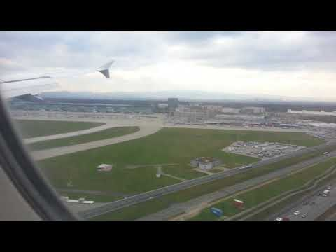 Landing and parking in Frankfurt/GER