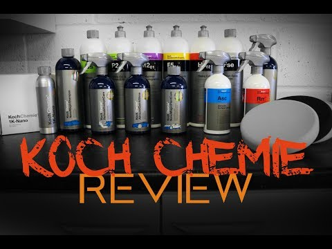 Koch Chemie Brand Review - Quality German Chemical Engineering