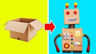 11 AWESOME CARDBOARD BOXES HACKS THAT YOU WILL LOVE