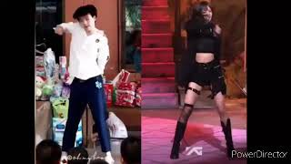Cooheart dancing Kill This Love by BLACKPINK,Solo by JENNIE, Energetic by Wanna one and UP & Down