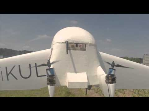 KU Leuven drone mixes plane and quadcopter technology