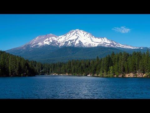 Stunning Mount Shasta California 4k Video