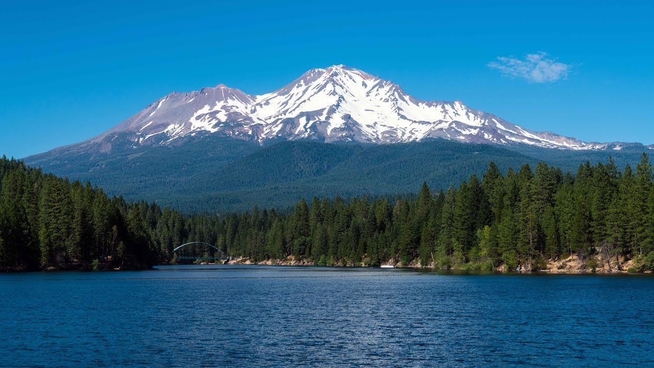 Mt Shasta Ca >> Stunning Mount Shasta California 4k Video Youtube