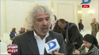 صباح دريم  المؤتمر الصحفي للاعلان عن المهرجان الدولى الأول لحرف وفنون النيل