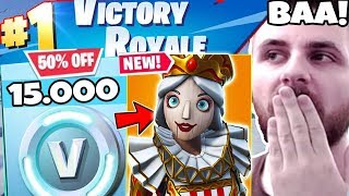 1V1 WITH IRAPHAHELL ON FORTNITE ON 15,000 VBUCKS + NEW SKIN!
