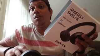 sony MDRZX330BT Bluetooth Stereo Headphones Honest review! UNBOXING