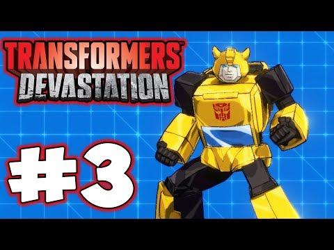 Transformers Devastation - Part 3 - Bumblebee! Gameplay Walkthrough
