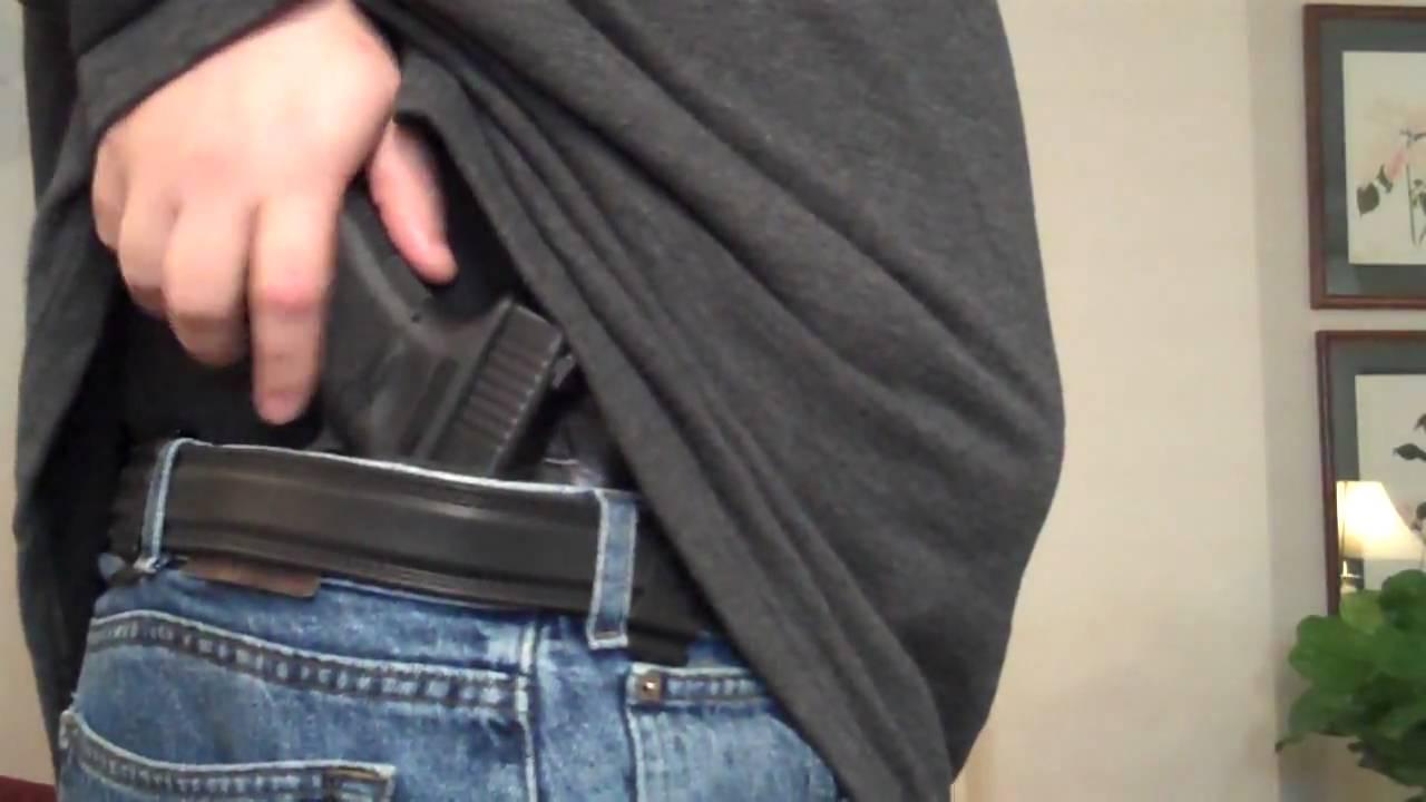 Glock 19, Crossbreed Supertuck Holster