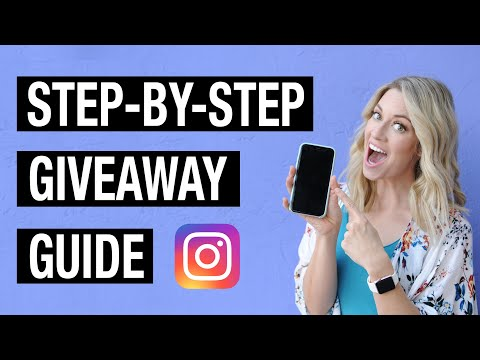 HOW TO RUN A SUCCESSFUL GIVEAWAY ON INSTAGRAM (Step-by-step Guide for VIRAL Giveaways) 🔥🎁