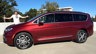 homepage tile video photo for The 2021 Chrysler Pacifica Pinnacle Is a Luxury Minivan for $50,000