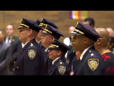 NYPD Promotion Ceremony (January, 2018)