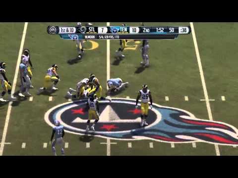 MADDEN NFL 16 Van Brocklin vs Moon