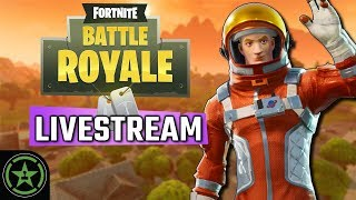 Achievement Hunter Live Stream - Fortnite