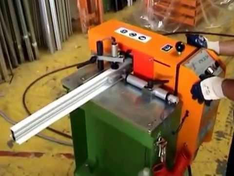 CDR Maquinaria Aluminio, Hierro y PVC - Fresadora de Testas FTN-20/SA