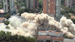 Medellin razes Escobar's home in symbol of rebirth