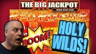 🐓HOLY WILDS!! HUGE HIT ON RED ROOSTER!! 💣SURPRISE CELEBRITY SHOUTOUT!