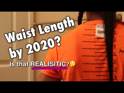 How to Set REALISTIC Natural Hair Growth Goals + Length Check Update #2